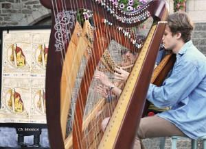 harpe en rue