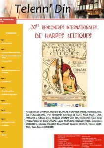 30eme rencontres internationales de harpe celtique